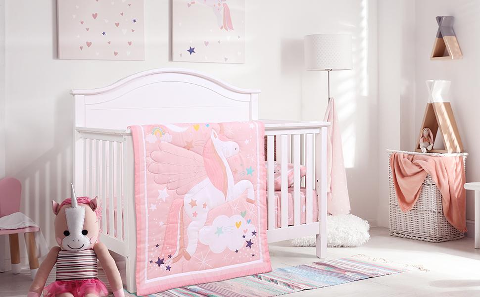 crib bedding set for girls