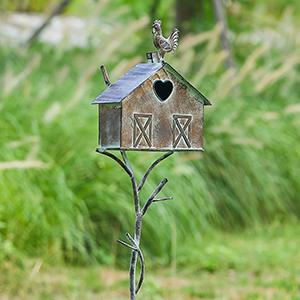 Bird Houses with Pole Farmhouse