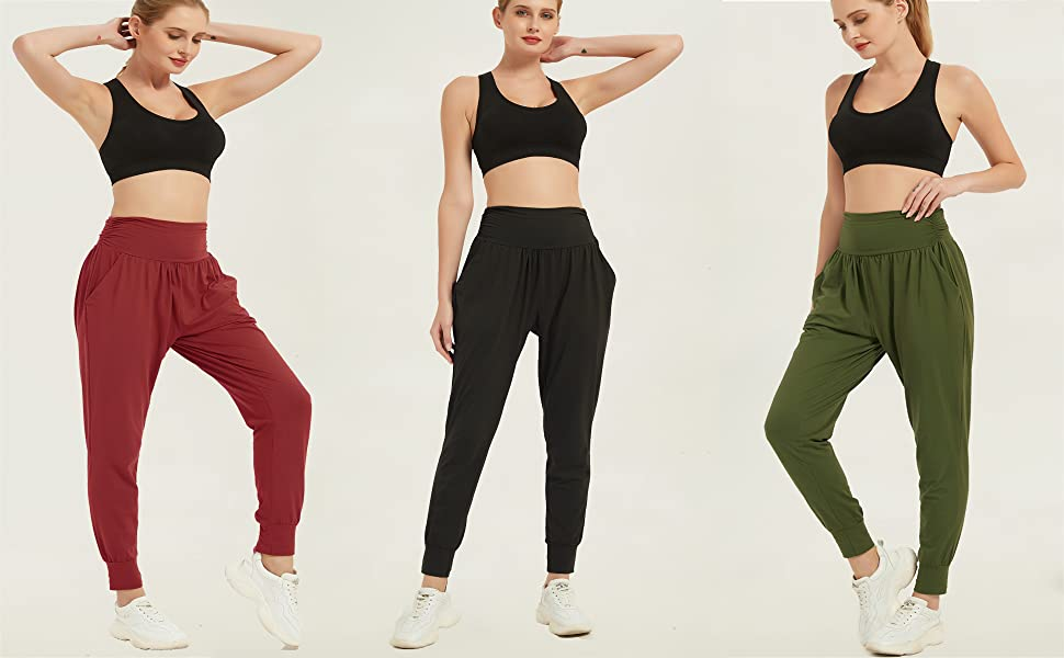harem yoga pants for women
