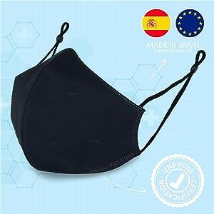 Mascarillas homologadas fabricadas en España