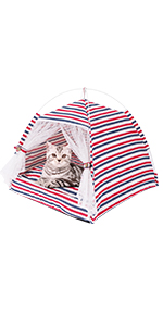 Cat Bed cat House Dog House Detachable Portable Indoor Pet House Cat Cave Cat House for Indoor Cats