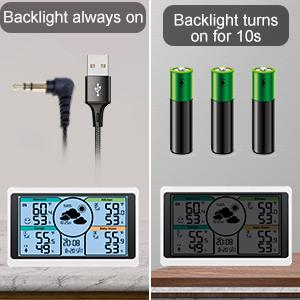 PLEASE PLUG IN WITH USB LINE FOR ADJUSTABLE & CONTINUOUS LIGHT