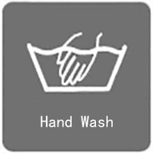 machine washable or hand wash