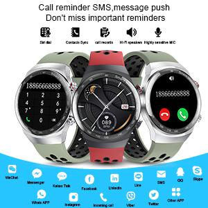 Bluetooth Call & App Notification