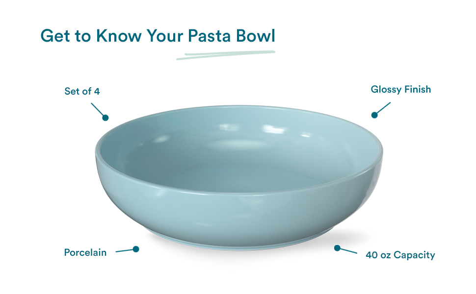 Pasta Bowls (Get to Know)
