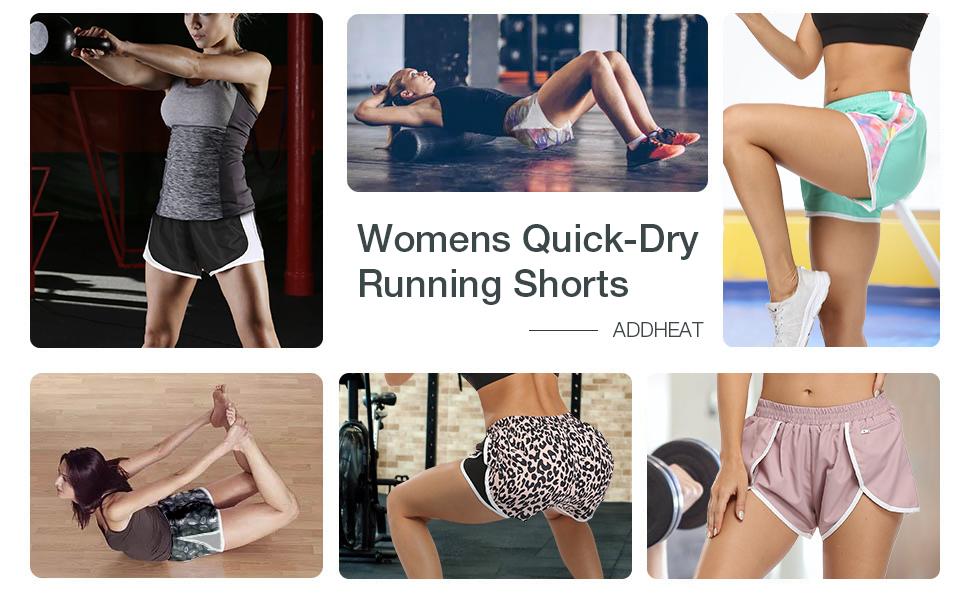 Womens Quick-Dry Running Shorts