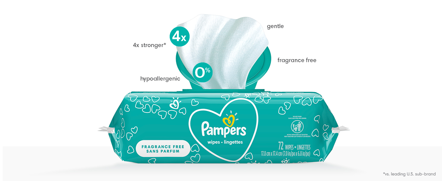 Pampers Wipes Unscented Product Tour