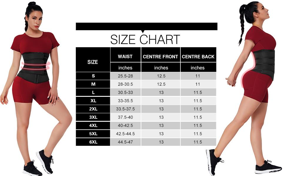 Plus Size Waist Trimmer Belt for Women