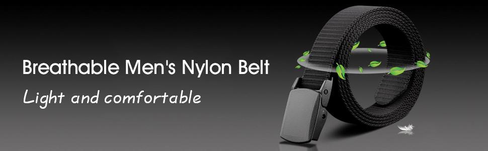 Men's Nylon Canvas Belt