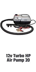 12v Turbo HP Air Pump 20