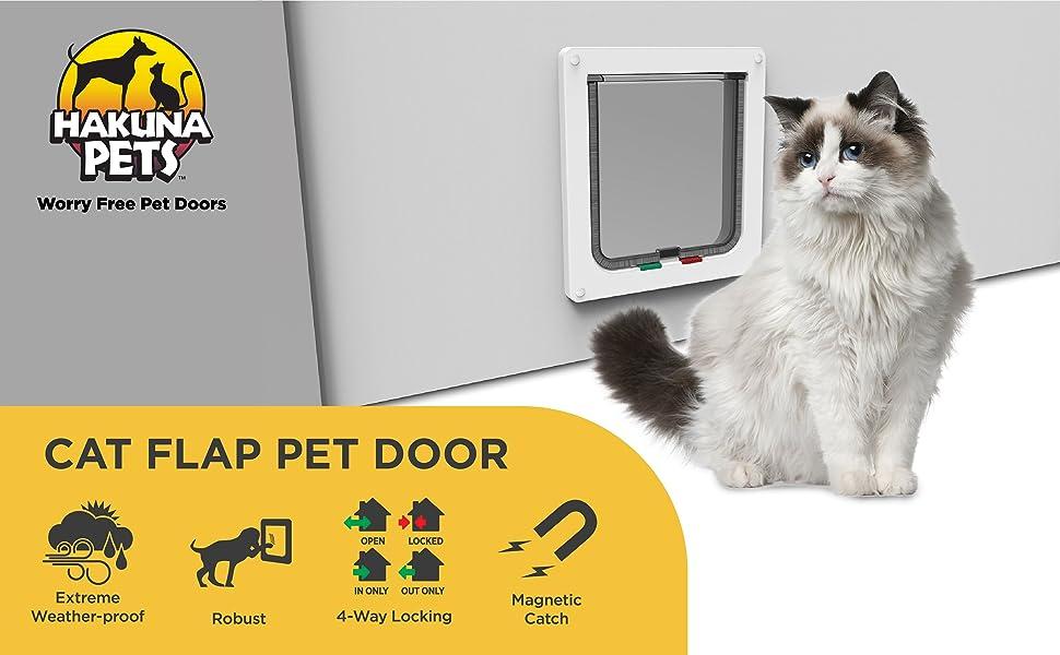 Cat Flap Pet Door