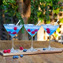 Blue Raspberry Cocktails made with Ultima Replenisher