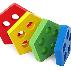 Geometric Board Early Educational Puzzles for Years Old Boys and Girls