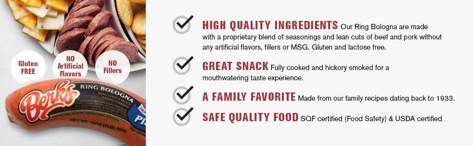 High quality, bursting with flavor, safe quality food
