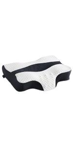 Contour Memory Foam Pillow(Grey)