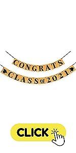 Congrats class of 2021 banner