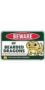 Bearded Dragon Sign