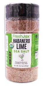 FreshJax Certified Organic Habanero Lime Sea Salt Blend