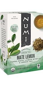 mate lemon green tea