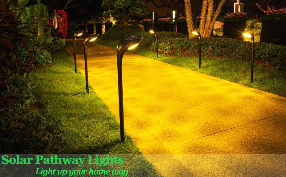outdoor pathway light