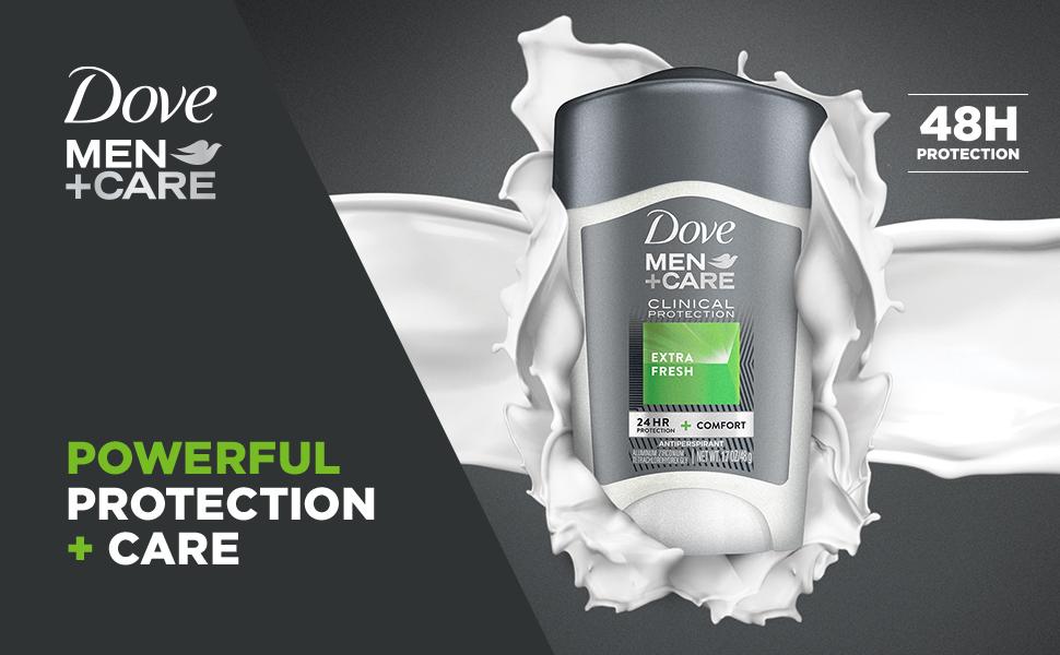 DOVE MEN + CARE Clinical Strength Antiperspirant Extra Fresh