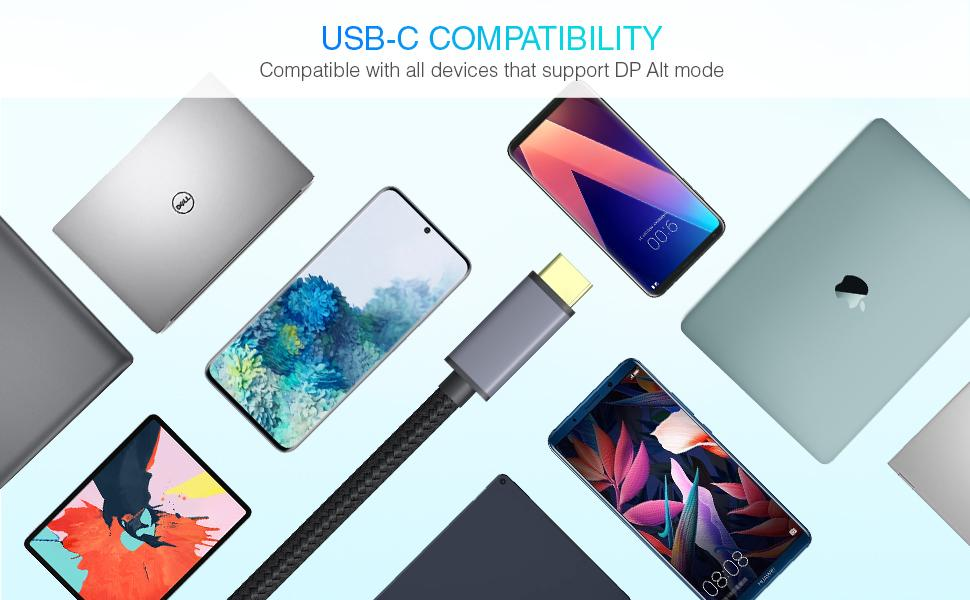 usb c to dvi cable compatibility