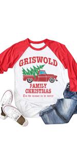 griswold family raglan sleeve shirt