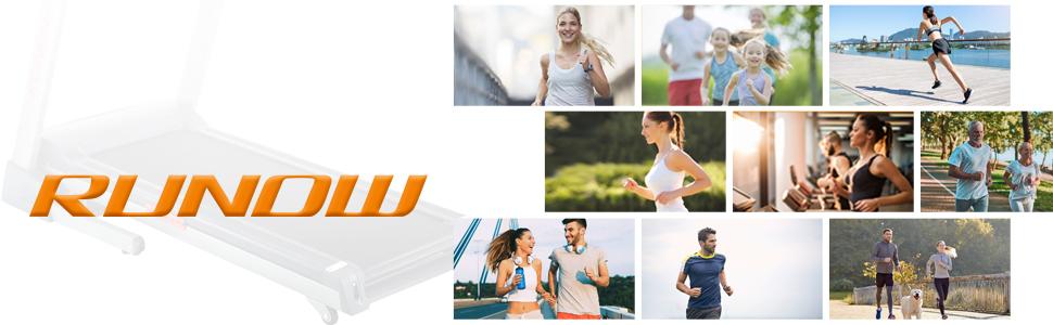 runow folding treadmill