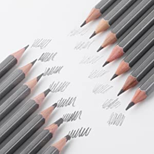 Mr. Pen- Sketch Pencils for Drawing, 14 Pack, Drawing Pencils,