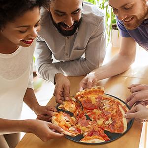 plateaux à pizza