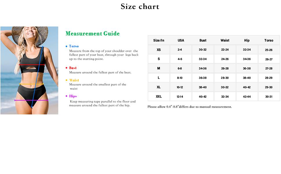 size chart-A+