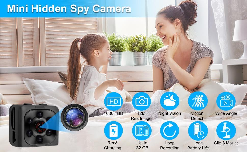 1080P Mini Spy Hidden Camaras