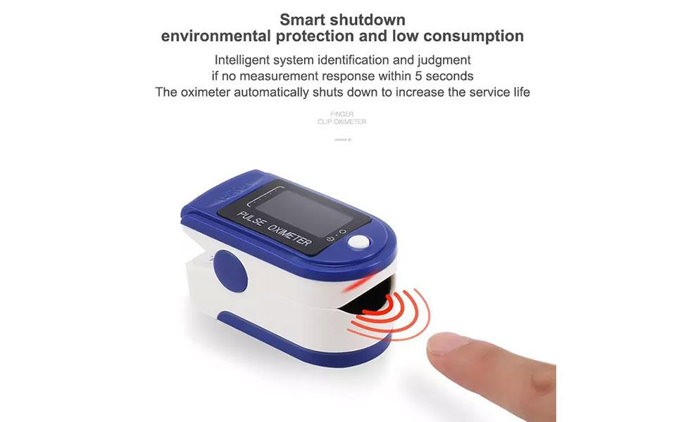 Livincy Pulse Oximeter Fingertip, Blood Oxygen Saturation Monitor Fingertip,