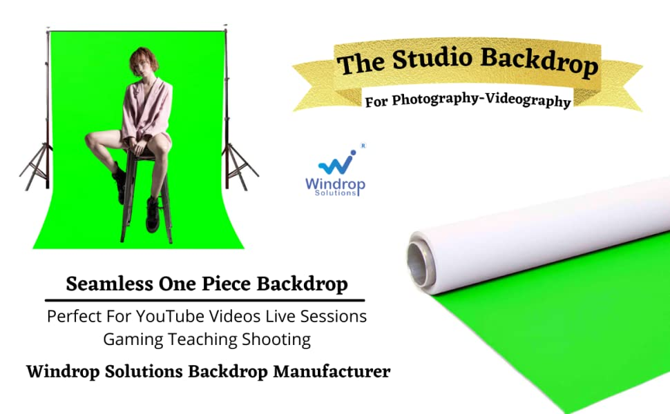 green screen youtube studio backdrop background photography videography gaming