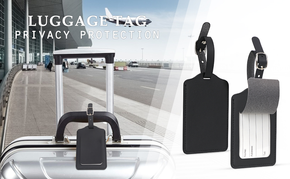 Recognize your luggages quickly by Unaone luggage tags