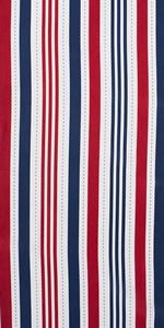 DII Patriotic Stripe Outdoor Tabletop Collection.