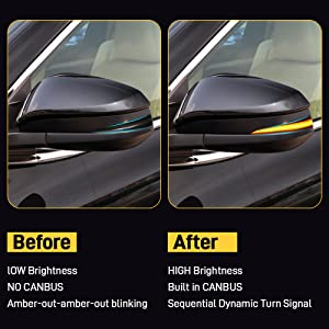 LED Mirror Turn Signal LIGHT