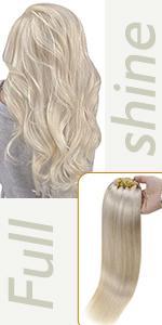 clip in human hair