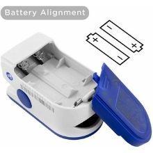 KZED pulse oximeter batteries slot