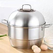 8.5Qt 304 Stainless Steel Steamer Pot