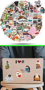 ViKiVi Reading Stickers 100 Pcs