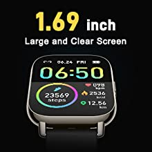 The 1.69-inch LCD color screen android smart watch watch for men