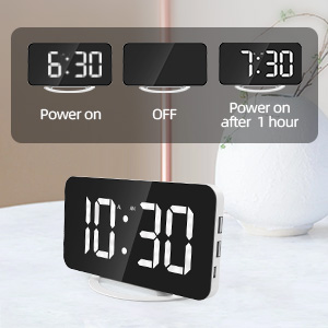 led display alarm clock