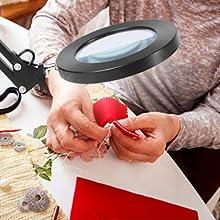 light magnifying glass