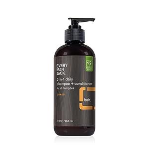 Citrus Shampoo 12 ounce bottle