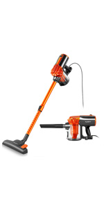 iwoly v600 vacuum cleaner corded bagless stick and handheld vacuum