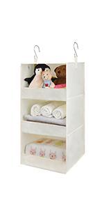 GRANNY SAYS 3-Shelf Hanging Closet Shelves, 1-Pack