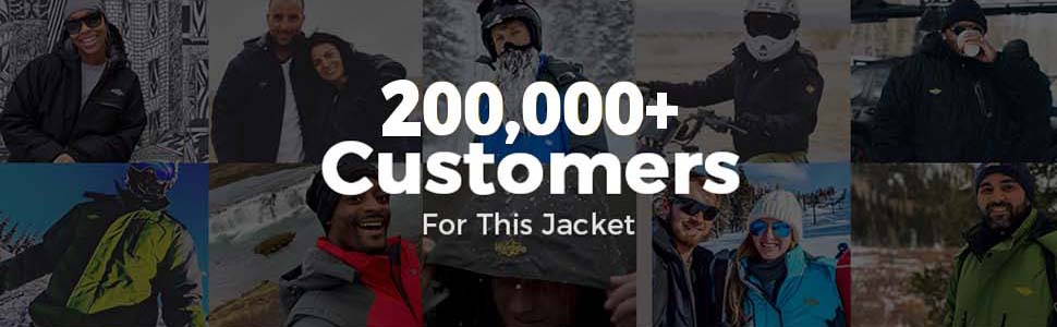 Wantdo men's ski jacket