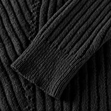 Conmite Mens Fashion Design Turtleneck Pullover Slim Fit Basic Tops Zipper Thermal Sweater