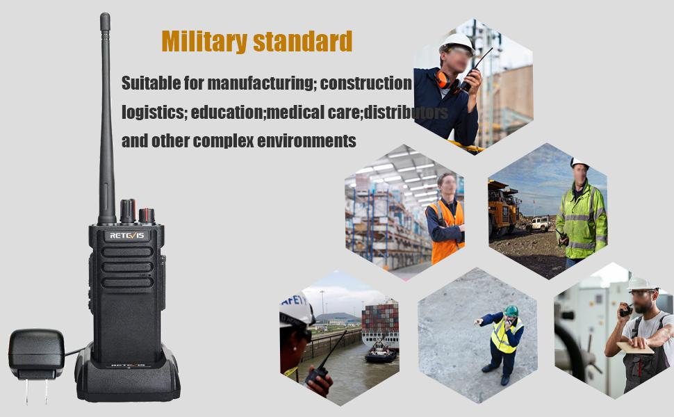 RT29 walkie talkies long range is suitable for warehouse, hotel, security and so on